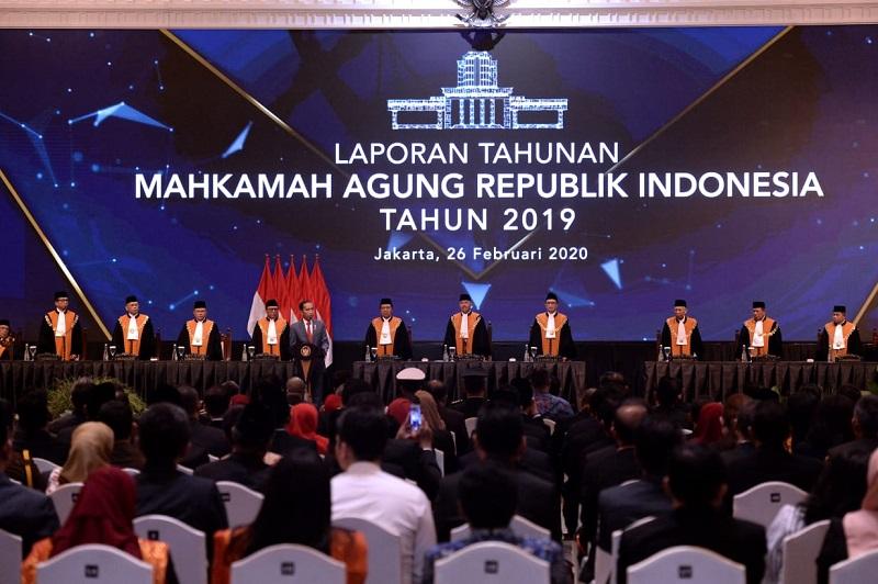 Presiden Jokowi Dukung Upaya Peningkatan Kualitas Peradilan MA
