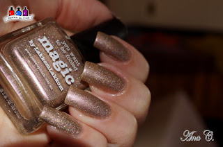 Picture Polish Magic, rose gold nail polish