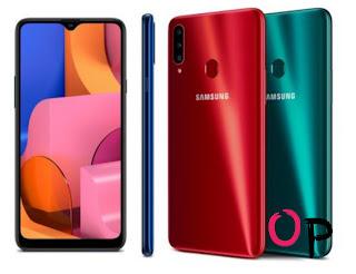 4:- هاتف Samsung Galaxy A20s
