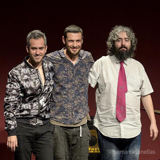 Jose Carra, Bori Albero i Dani Domínguez, Auditori Vinseum, Vilafranca del Penedès, 18 gener 2020