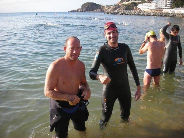 Xavier Martií i Joaquim Verdalet participant a la Volta del Serrà 2009