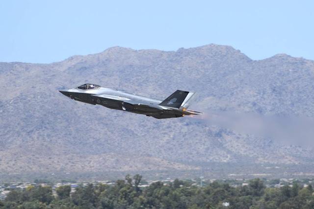 F-35 flight emergency