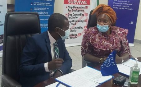 FG, IOM launch technology to track and identify victims of human trafficking