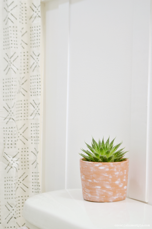 DIY bathroom makeover that is simple, beautiful, and can be completed for under $100