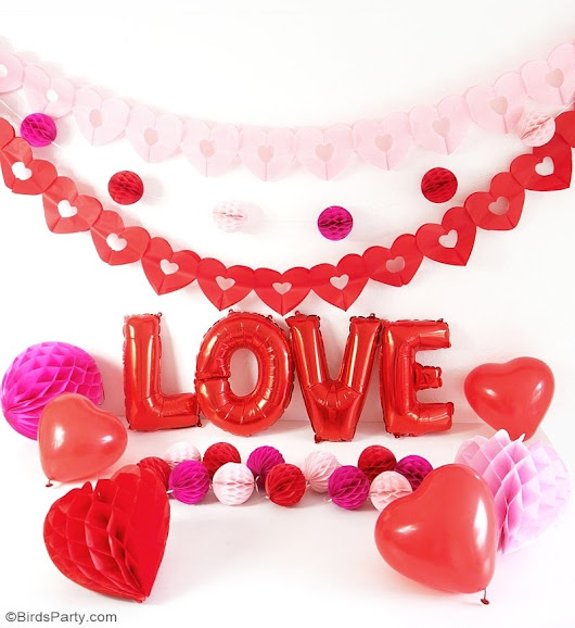 A Crafty Valentine's Day Party | Party Ideas | Party Printables