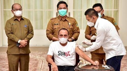 Edy Rahmayadi Tegur Gubernur Riau Soal Lonjakan Kasus Covid