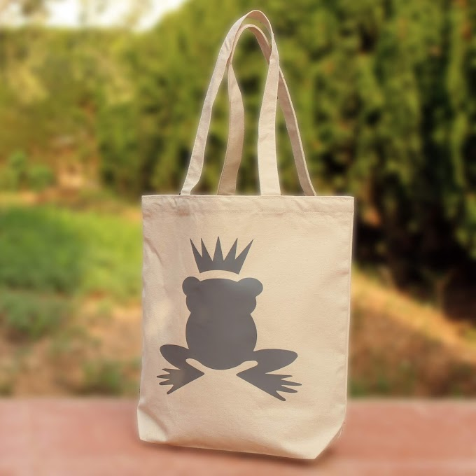 Royal Plastic Shopper Bag