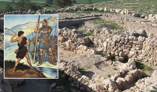 Ruinas de la ciudad bíblica de Gad