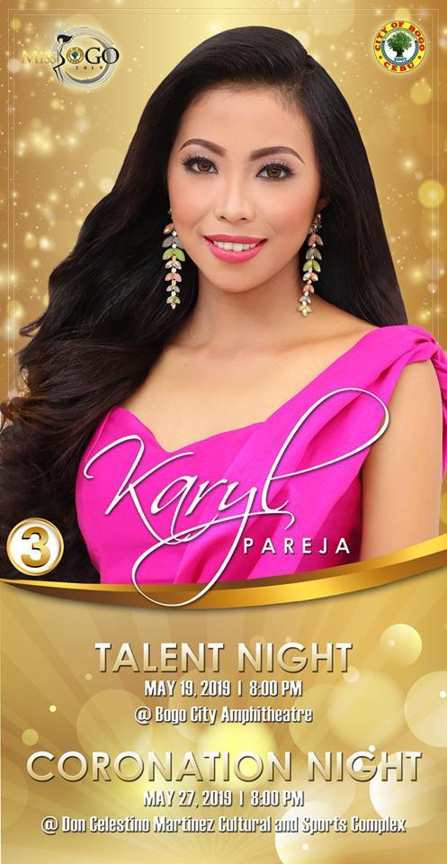 KARYL PAREJA Candidate #3