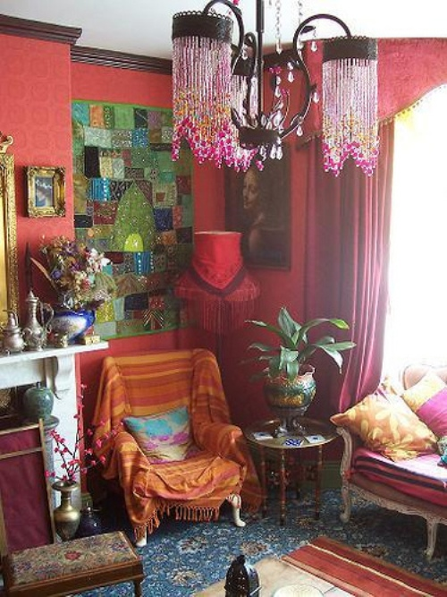 Bohemian Style Interiors Living Rooms And Bedrooms: Mon Reve And Co.: Bohemian Decor- Guest Post By Design Shuffle