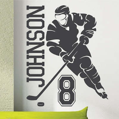 How to Paint a Hockey Bedroom