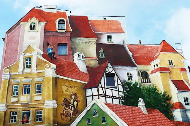 Mural na Śródce w Poznaniu