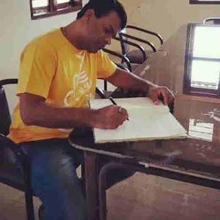 Bharat Jadhav Writing