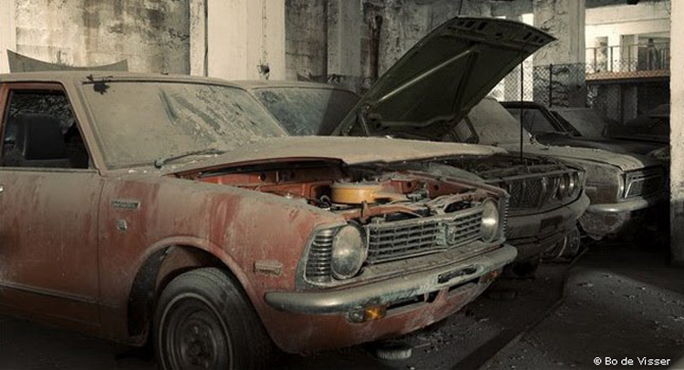 Frozen In Time: Brand New 1970s Toyotas Abandoned On
