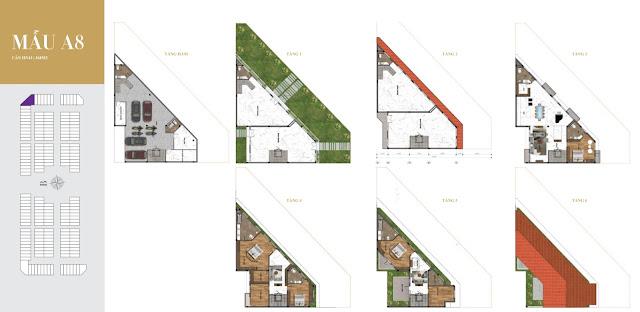 biệt thự shop villas Sunshine Residence Helios Ciputra Hà Nội