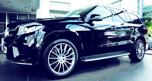 Mercedes GLS 500 4MATIC thiết kế thể thao mạnh mẽ