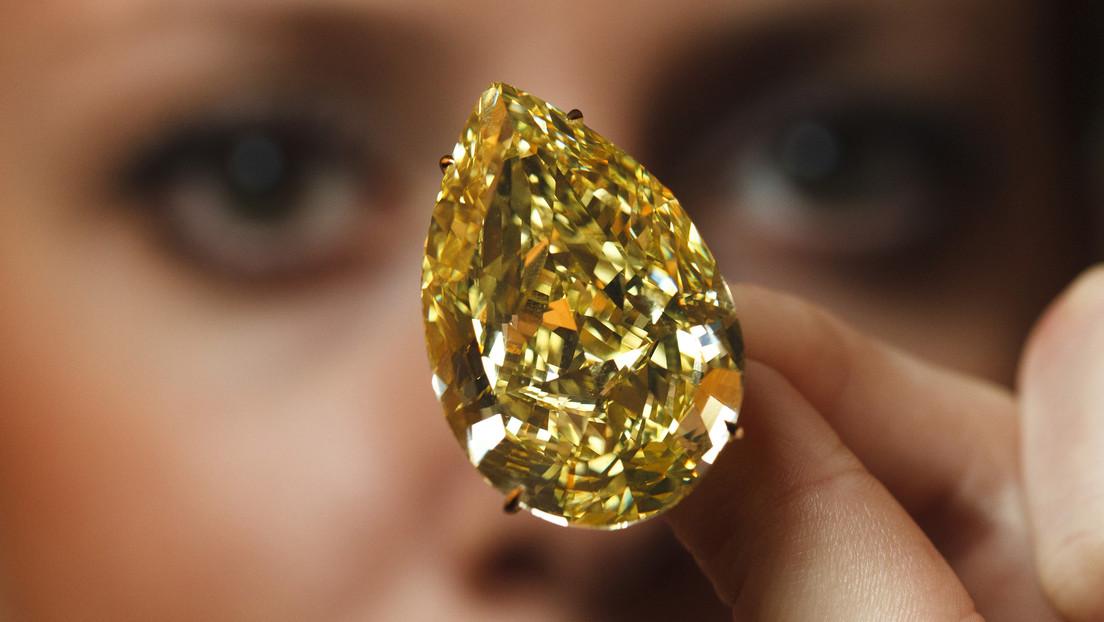Rusia, a punto de coronarse como el mayor productor mundial de diamantes de colores