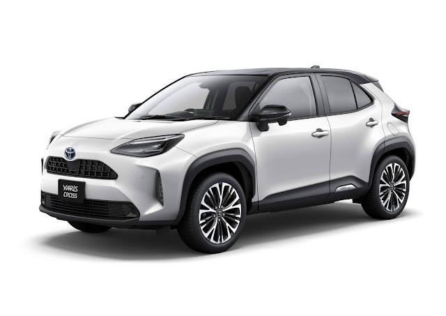 Novo Toyota Yaris Cross 2021 é lançado no Japão - fotos