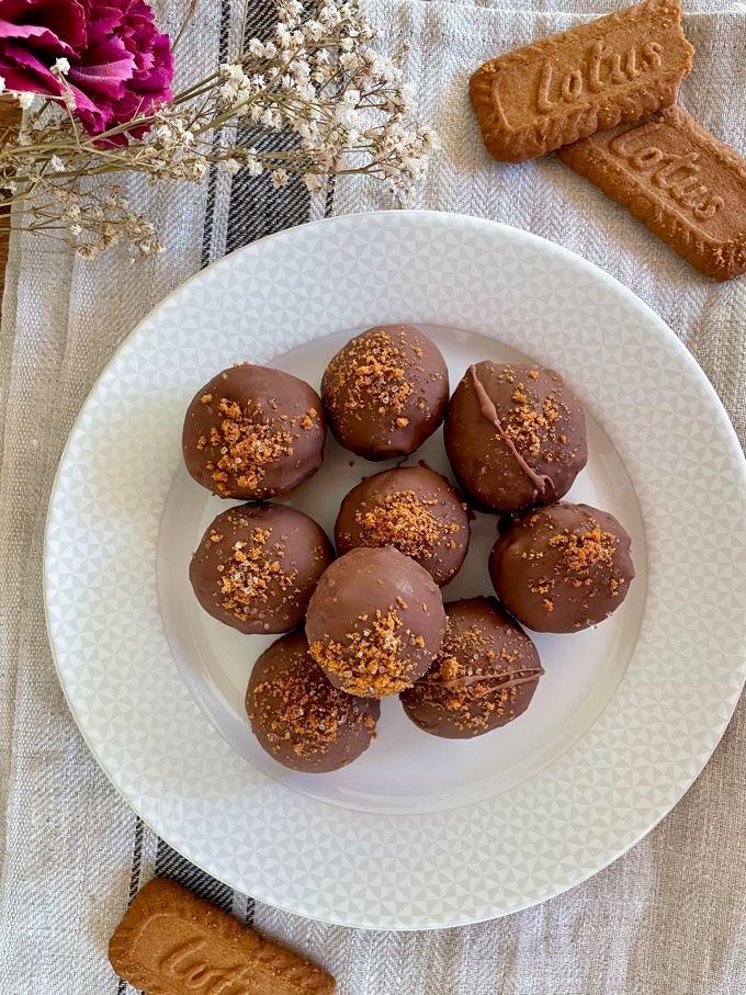 Biscoff Biscuit Cookie Truffles