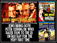 NEWS: KINO BRINGS BOTH PETER CUSHING DALEK FILMS TO BLU RAY IN USA