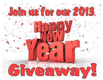 Join us for our 2013 Happy New Year Giveaway!