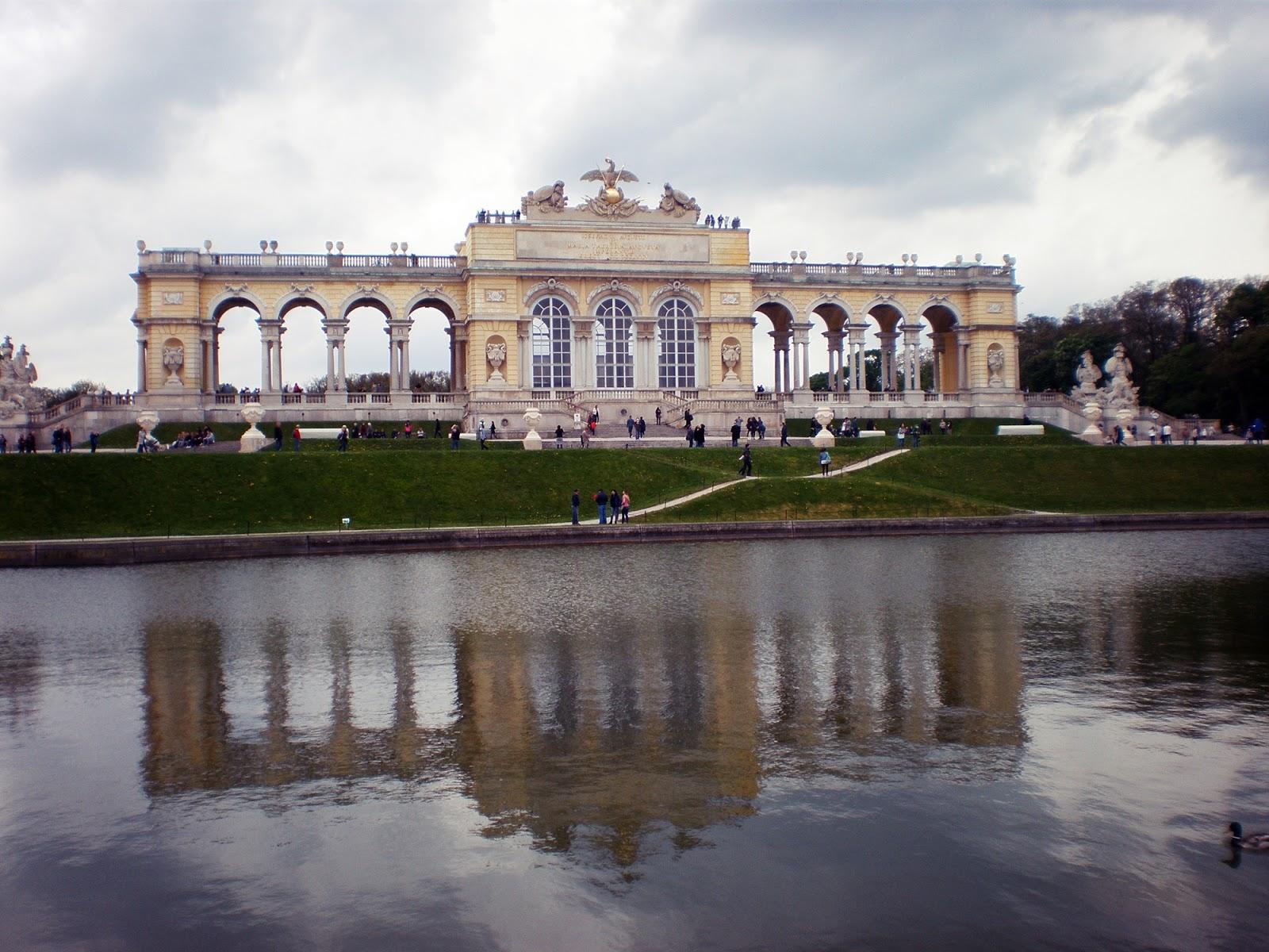 Glorietta, Ogrody Schönbrunn