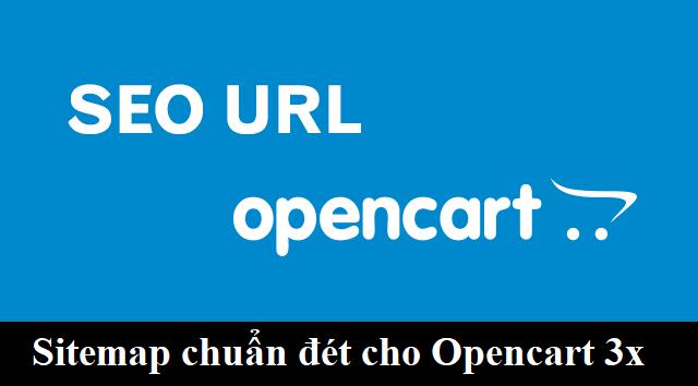 Sitemap chuẩn seo cho Opencart 3.0.2.0