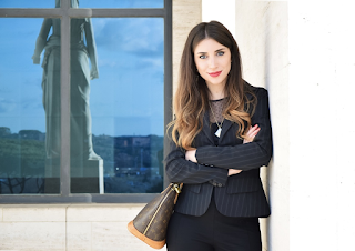 Got another young entrepreneur and blogger - Alessia La Scala