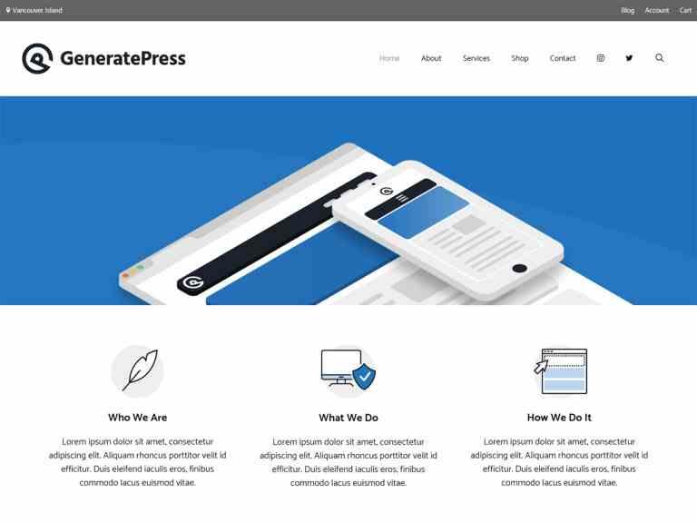 GeneratePress Premium Theme Free Download Latest Version