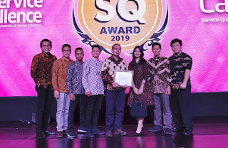 AHASS Raih Diamond Service Quality Award 2019