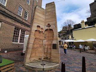 The Rocks Public Art   Sculpture by Bud Dumas