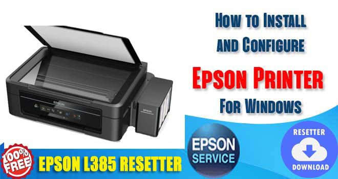 Epson L385 Adjustment Program