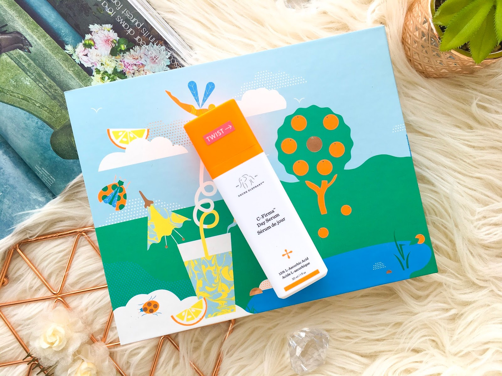 drunk elephant c-firma day serum, drunk elephant haul, drunk elephant come c about me set, drunk elephant c firma review, best vitamin c serum