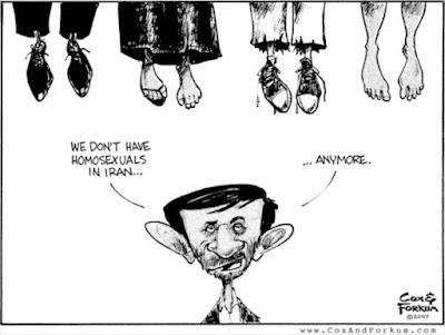 No gays in Iran