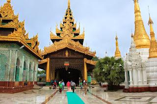 Escalera norte - Pagoda Shwedagon