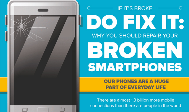 Why You Should Repair Your Broken Smartphones
