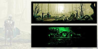 "The Mandalorian ""There Aren't Many Jedi Left"" Star Wars Screen Print by Mark Englert x Bottleneck Gallery"