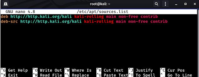تحديث نظام كالي لينكس لأحدث اصدار و حل مشاكل السورسات update kali linux