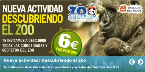 Descubriendo el Zoo. Nueva actividad del zoo aquarium de Madrid