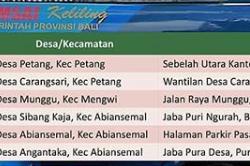 Jadwal Samsat Keliling Badung Juni 2019