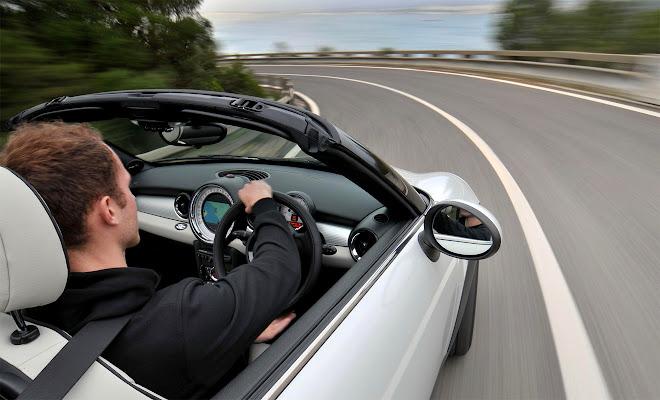 Mini Roadster driven