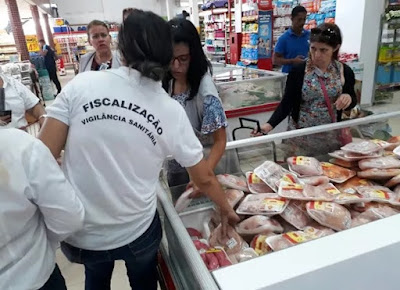 Vigilância apreende mais de 170 kg de carnes durante fiscalização no Sertão de PE