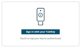 YubiKey Sign in