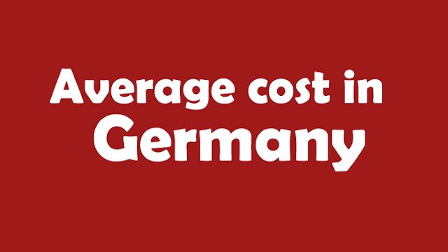 Average cost in Germany