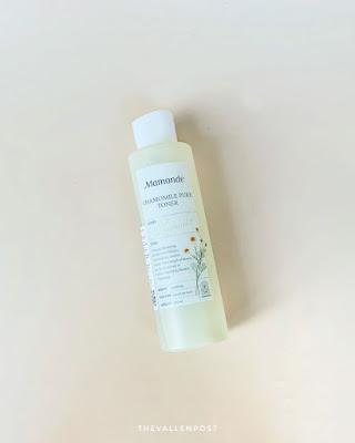 review mamonde chamomile pure toner