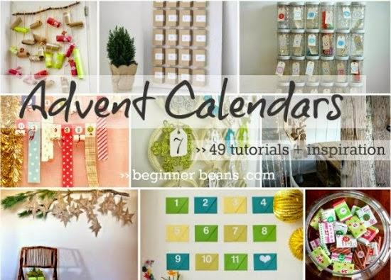 adviento, Navidad, fiestas, calendarios, manualidades