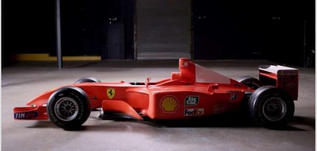 Ferrari του Σουμάχερ πωλήθηκε για 7.500.000 δολάρια