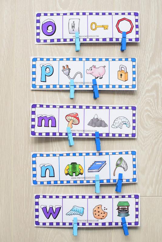 Winter Theme Learning Pack: Beginning Letter Sound