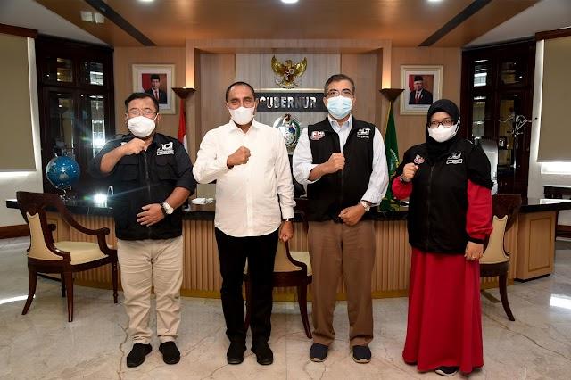 Gubernur Edy Rahmayadi Dukung Upaya  ACT Sejahterakan Umat