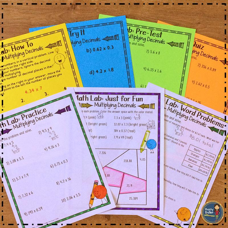 Math Intervention; Math Remediation; Multiply Decimals; Decimals